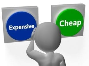 cost effectiveness button for digital marketing expert