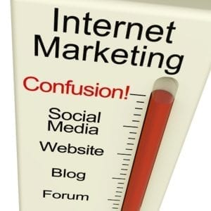 internet marketing temperature gauge image