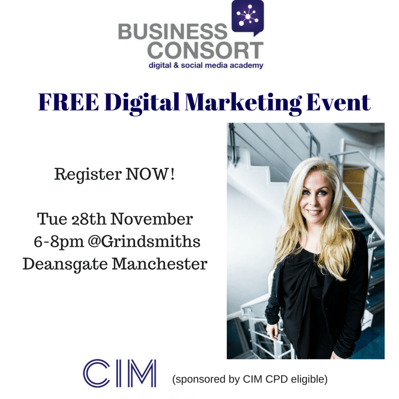 FREE CIM Digital Event in Manchester