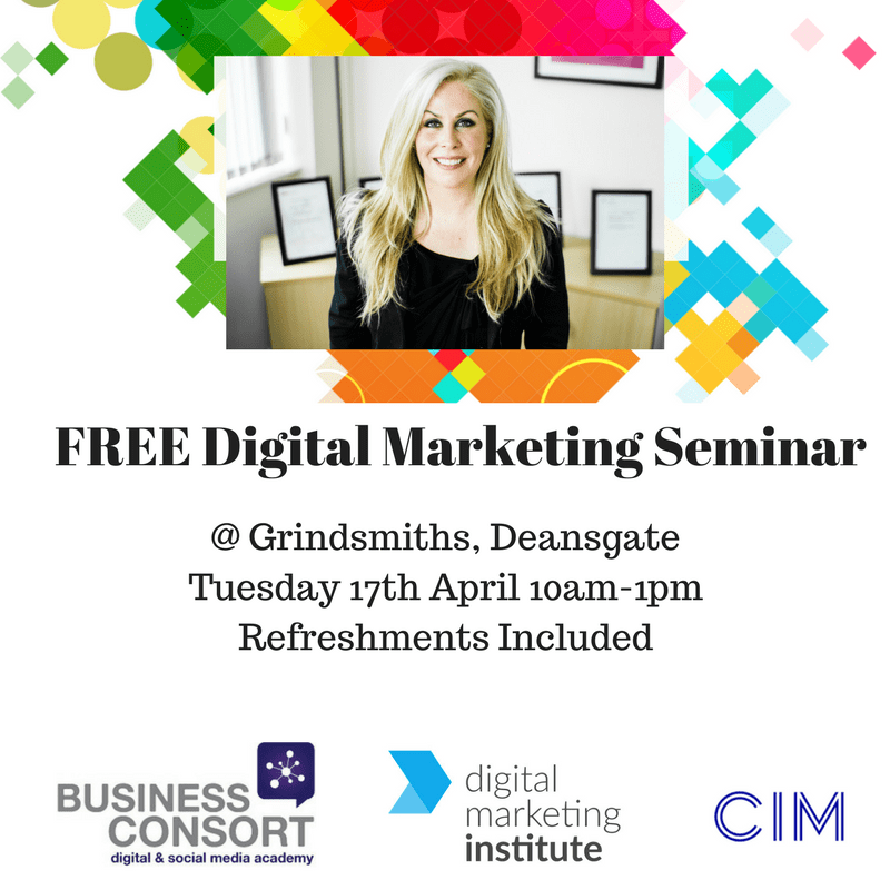 Free Digital Marketing Seminar in Manchester