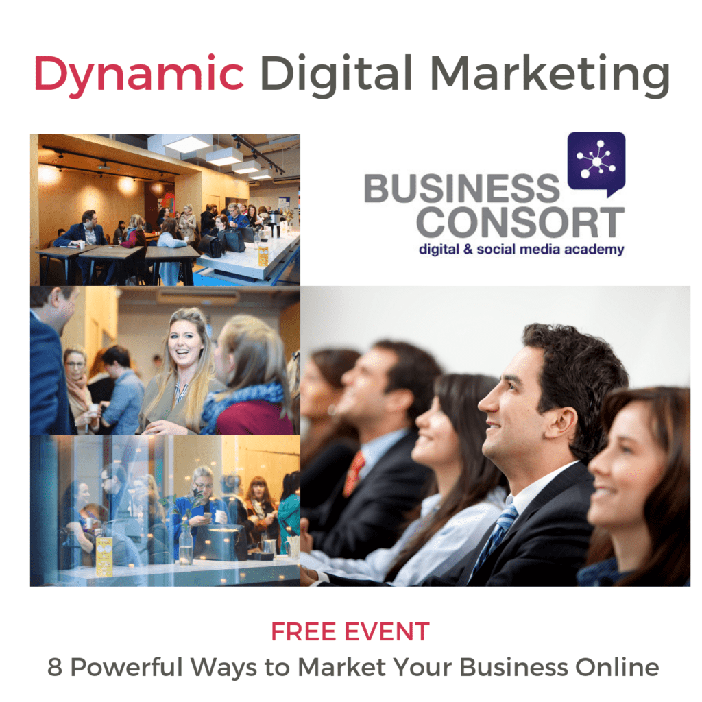 NEW 'Powerful Ways to Market Your Business Online' Event