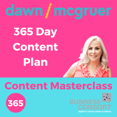 365 Days of Content + Perfect Posting Online Workshop