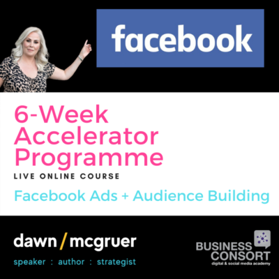 Facebook Ads & Audience Accelerator Programme