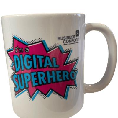 Digital Superhero Mug