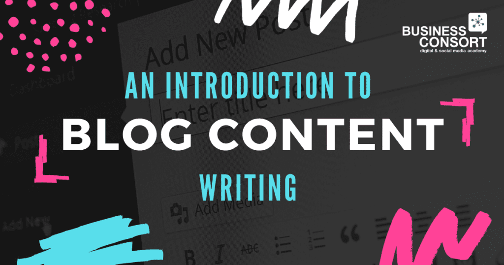 An introduction to blog content writing