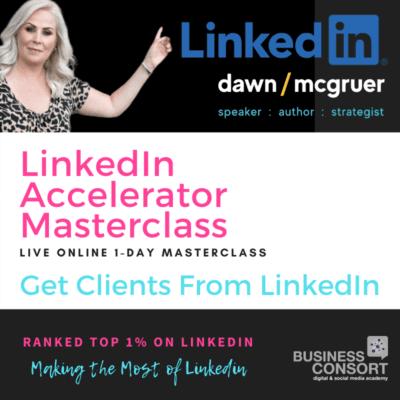LinkedIn Accelerator Online Masterclass